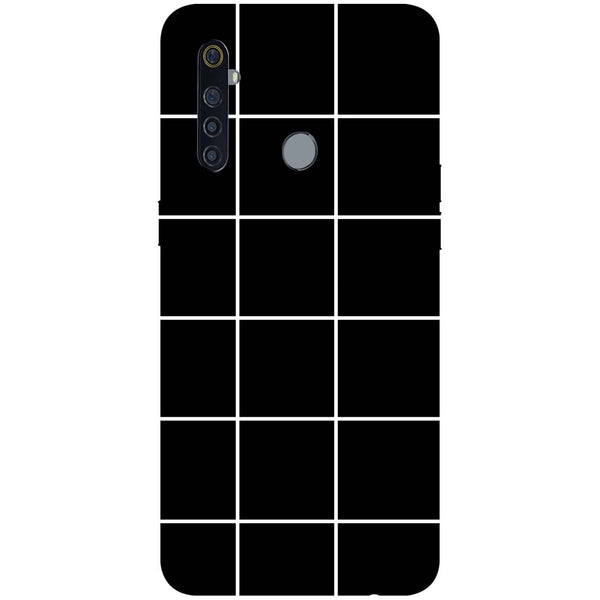 Checks RealMe 5 Pro Back Cover