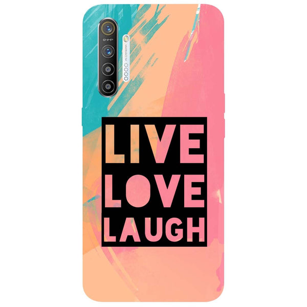 Live Love RealMe XT Back Cover