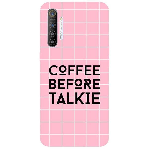 Coffee Talkie RealMe XT Back Cover