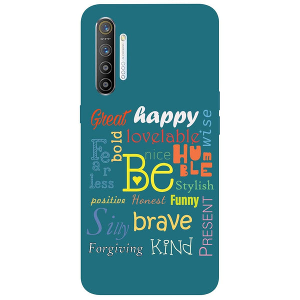 Be RealMe XT Back Cover