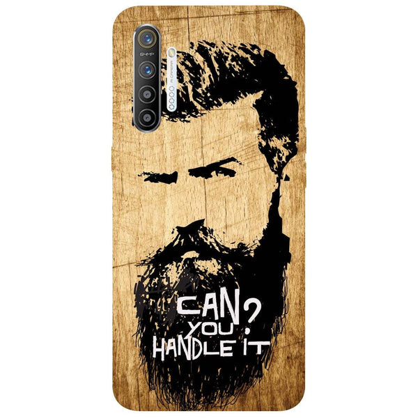 Handle Beard RealMe XT Back Cover