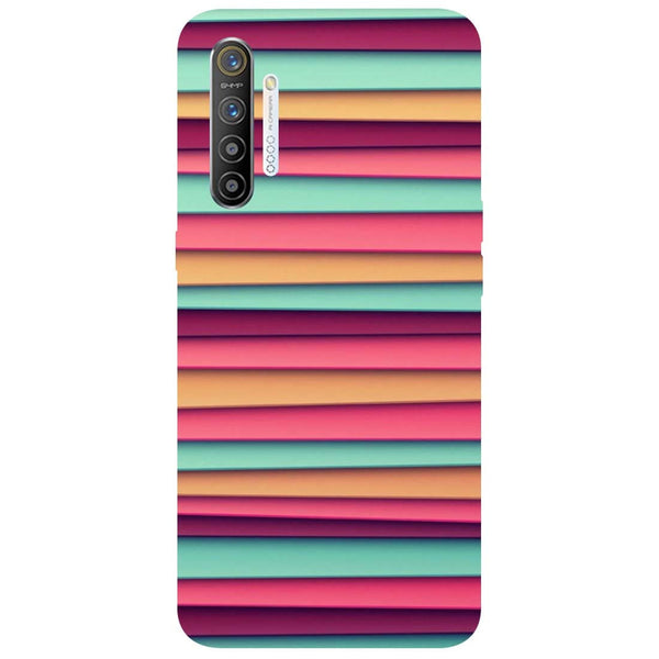 Colourful Stripes RealMe XT Back Cover