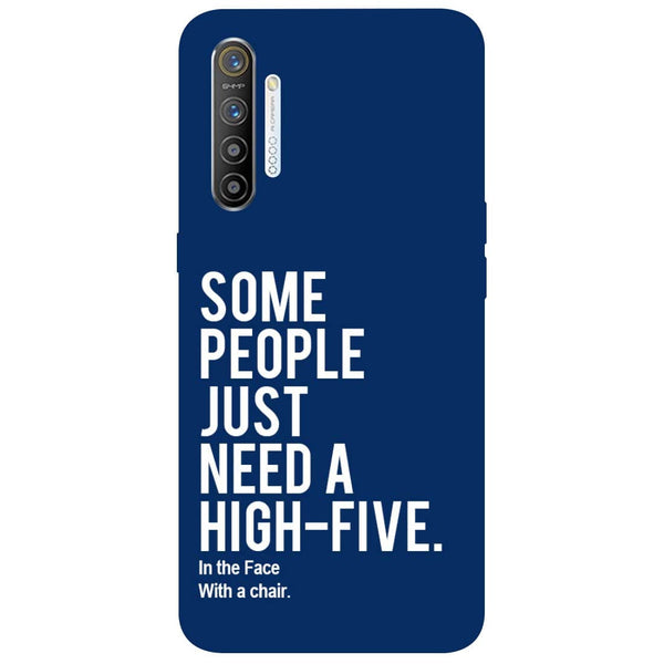 High Five RealMe XT Back Cover