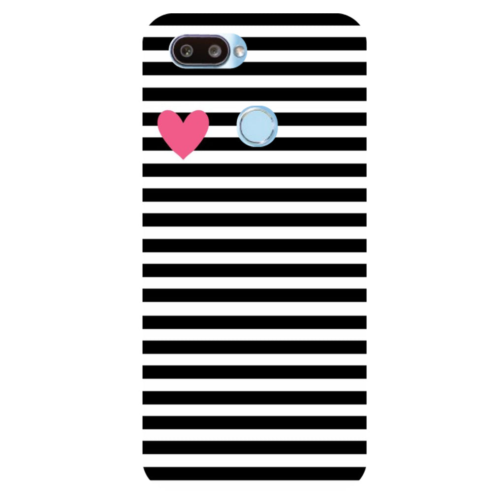 the best attitude f3ce3 276f7 Stripes Printed Hard Back Case Cover for RealMe U1 | Hamee India