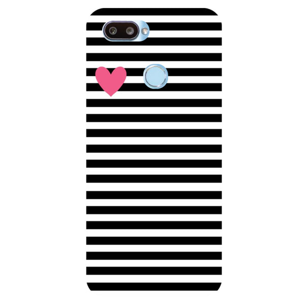 pretty nice 842be d5171 Stripes RealMe U1 Back Cover