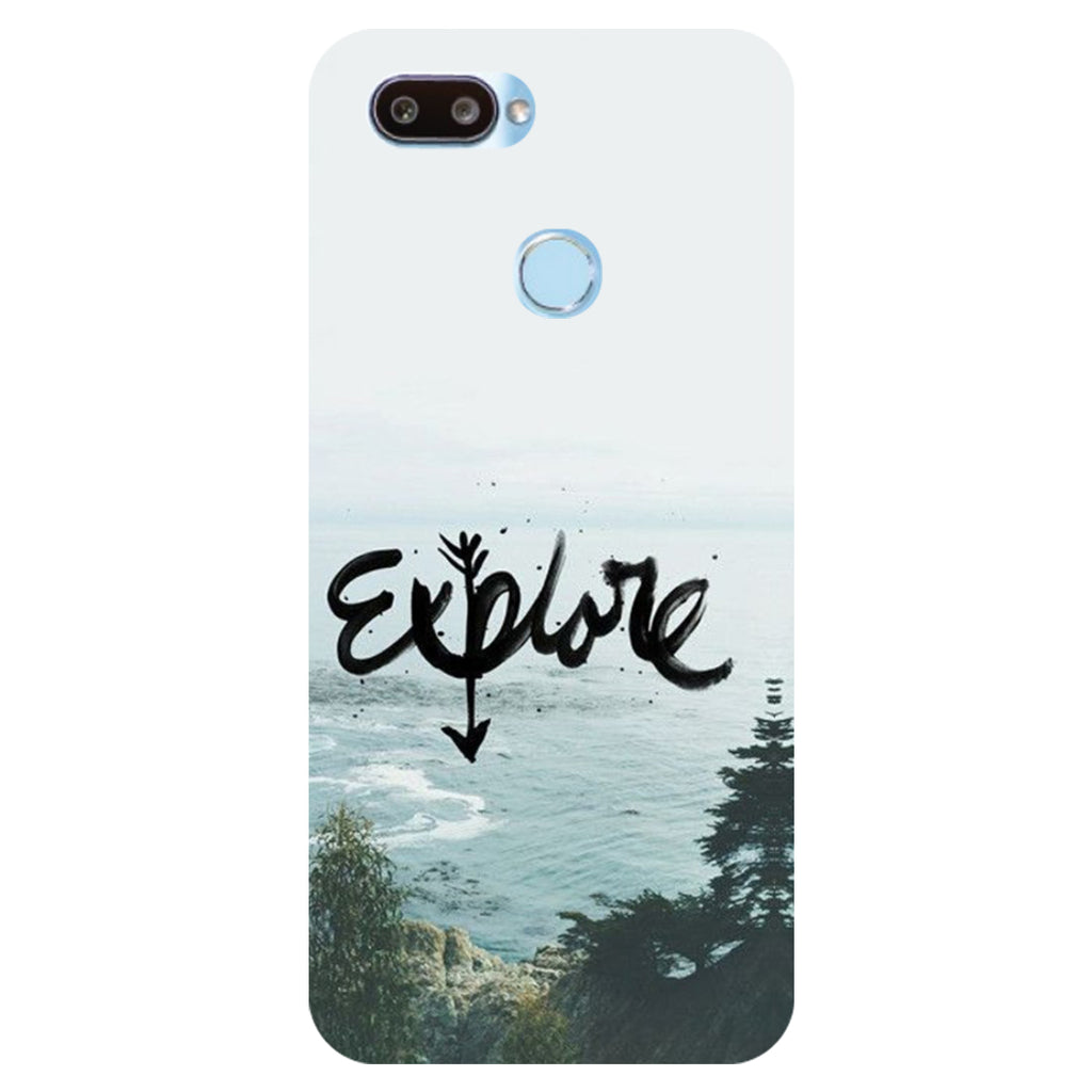 separation shoes d62cb 735f1 Explore Printed Hard Back Case Cover for RealMe U1 | Hamee India