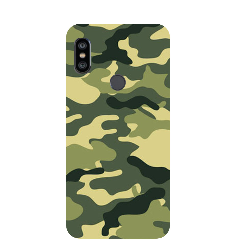 2a97c3e9e Camouflage Printed Back Cover for Redmi Note 6 Pro