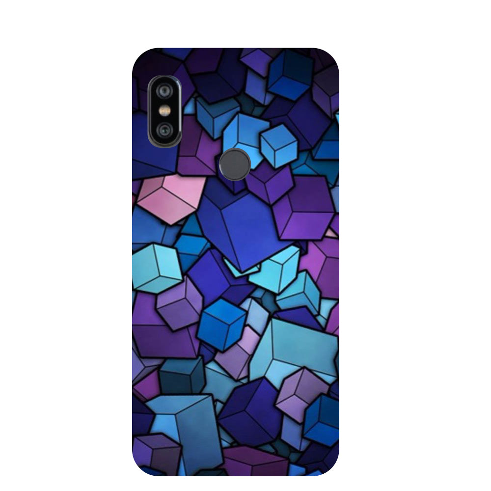 brand new 10849 9097e Cubes Redmi Note 6 Pro Back Cover