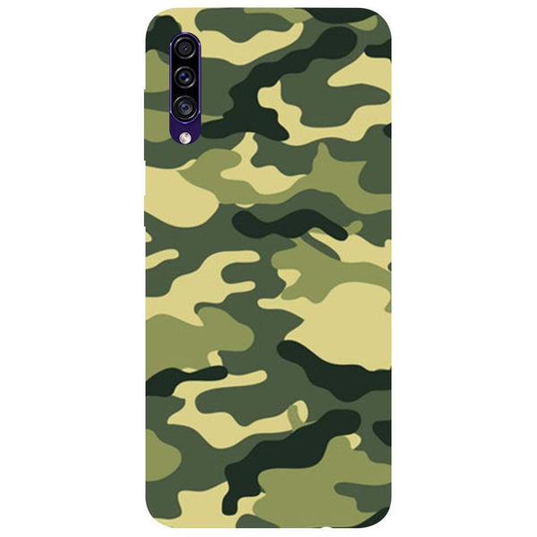 Green Camouflage Samsung Galaxy A50s Back Cover