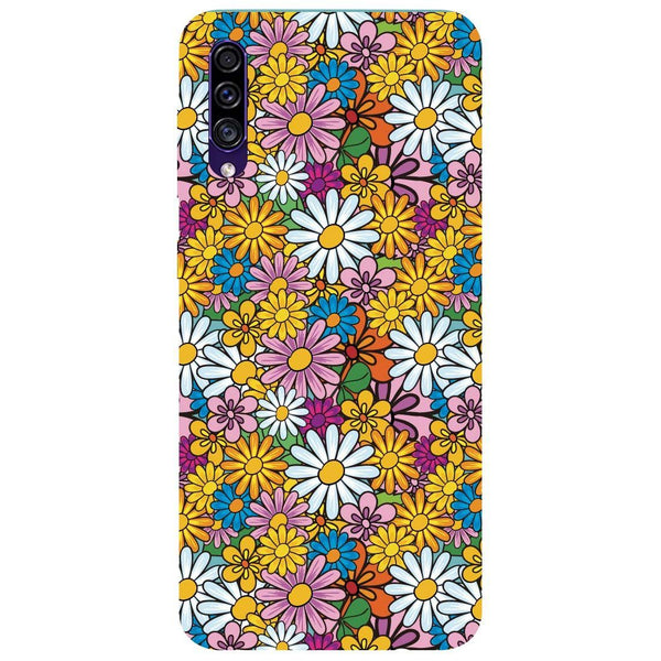 Colourful Flowers Samsung Galaxy A30s Back Cover