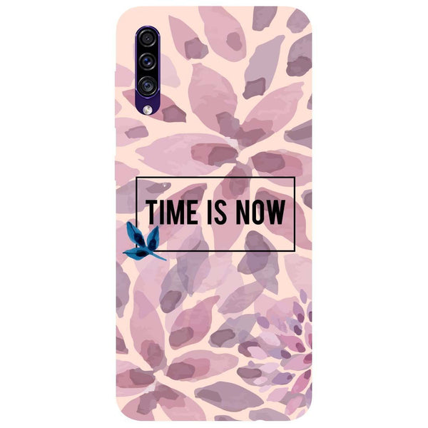 Time Is Now Samsung Galaxy A50s Back Cover
