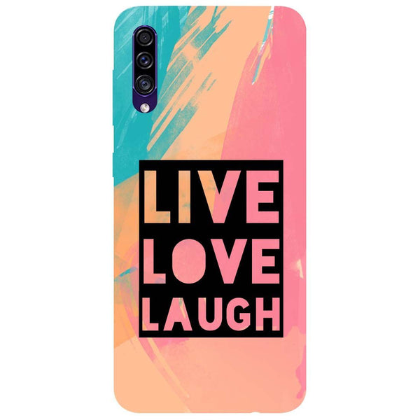 Live Love Samsung Galaxy A50s Back Cover