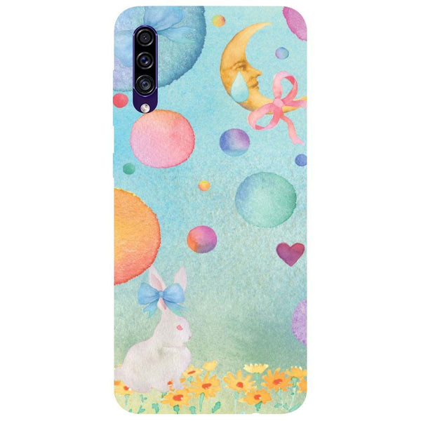 Moon Rabbit Samsung Galaxy A30s Back Cover
