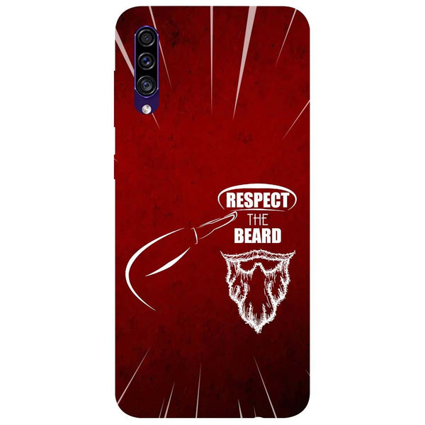 Respect Beard Samsung Galaxy A50s Back Cover
