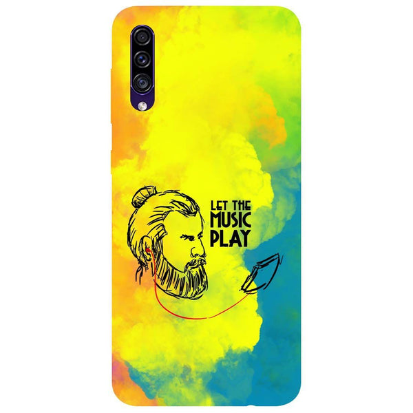 Beard Music Samsung Galaxy A50s Back Cover