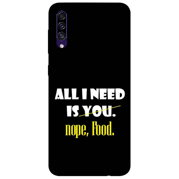 Food Samsung Galaxy A50s Back Cover