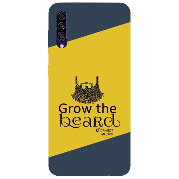 Grow Beard Samsung Galaxy A50s Back Cover