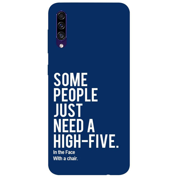 High Five Samsung Galaxy A30s Back Cover
