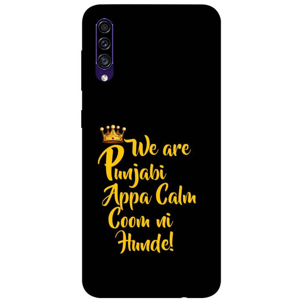 Punjabi Samsung Galaxy A50s Back Cover