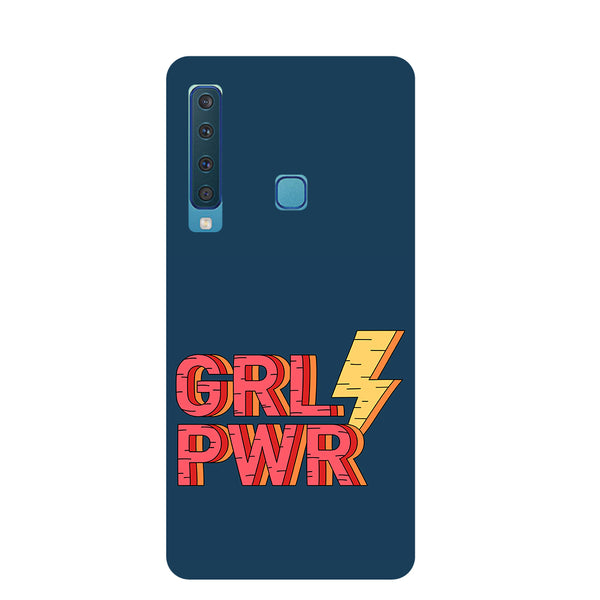 Grl Pwr Samsung Galaxy A9 Back Cover-Hamee India