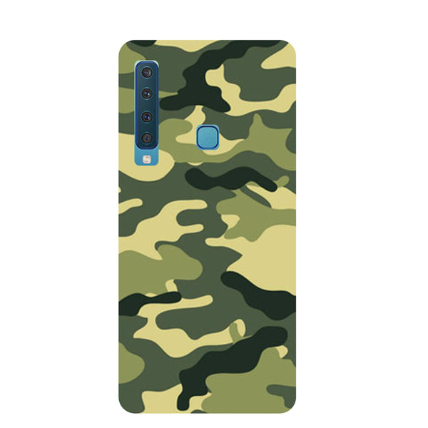Camouflage Samsung Galaxy A9 Back Cover-Hamee India