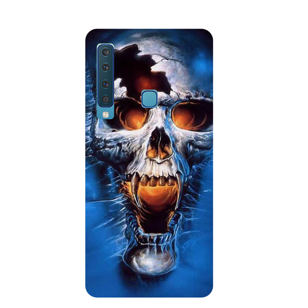 Skull Samsung Galaxy A9 Back Cover-Hamee India