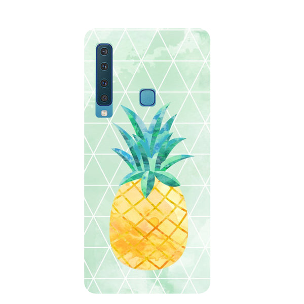 Pineapple Paint Samsung Galaxy A9 Back Cover-Hamee India