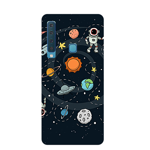 Space Samsung Galaxy A9 Back Cover-Hamee India