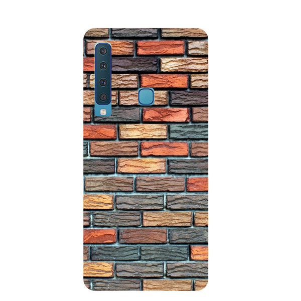 Brick Wall Samsung Galaxy A9 Back Cover-Hamee India