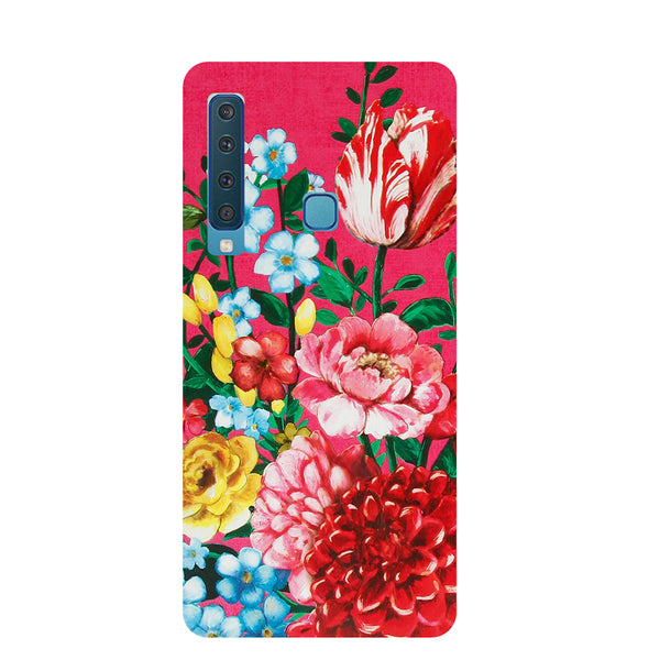 Flower Blush Samsung Galaxy A9 Back Cover-Hamee India