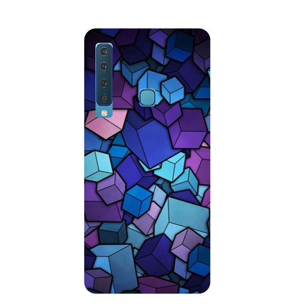 Cubes Samsung Galaxy A9 Back Cover-Hamee India