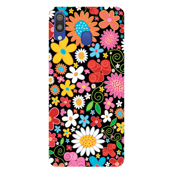 Bloom Samsung Galaxy M20 Back Cover-Hamee India