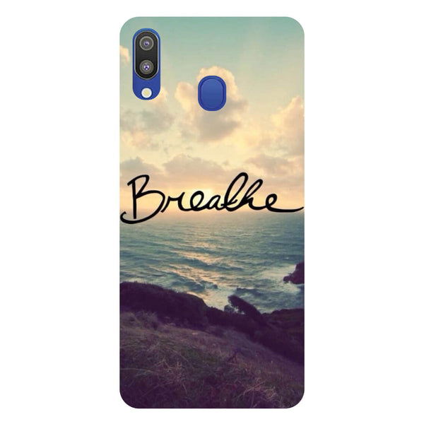 Breathe Samsung Galaxy M20 Back Cover-Hamee India