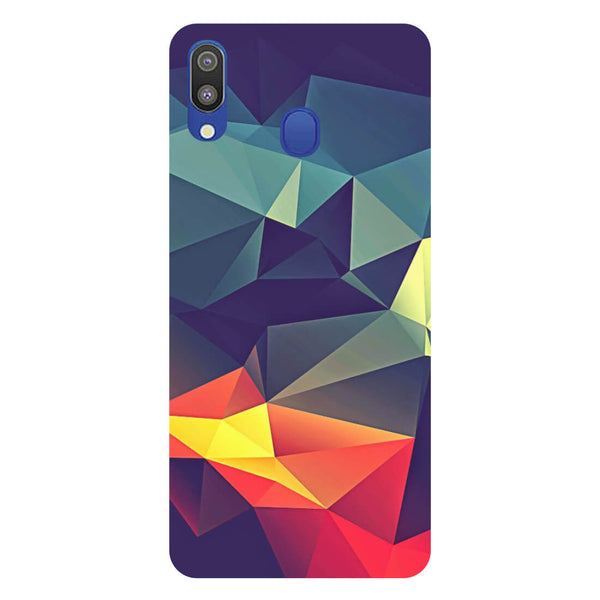 Geometric Samsung Galaxy M20 Back Cover-Hamee India