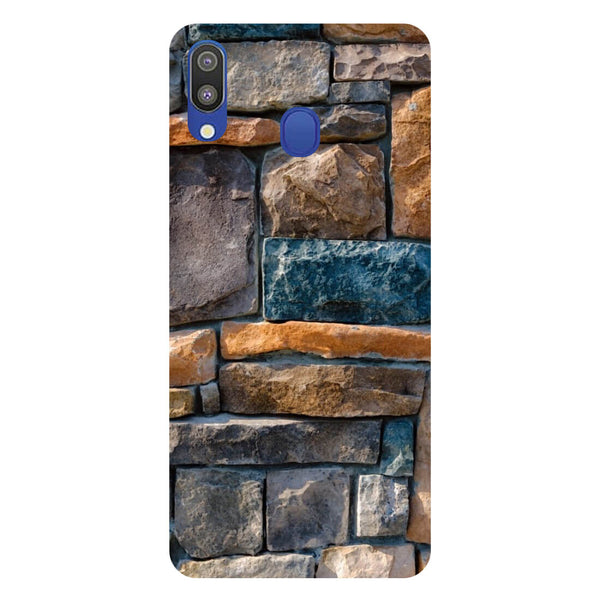 Bricks Samsung Galaxy M20 Back Cover-Hamee India