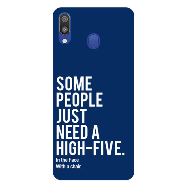 High Five Samsung Galaxy M20 Back Cover-Hamee India