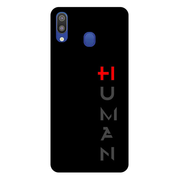 Human Samsung Galaxy M20 Back Cover-Hamee India