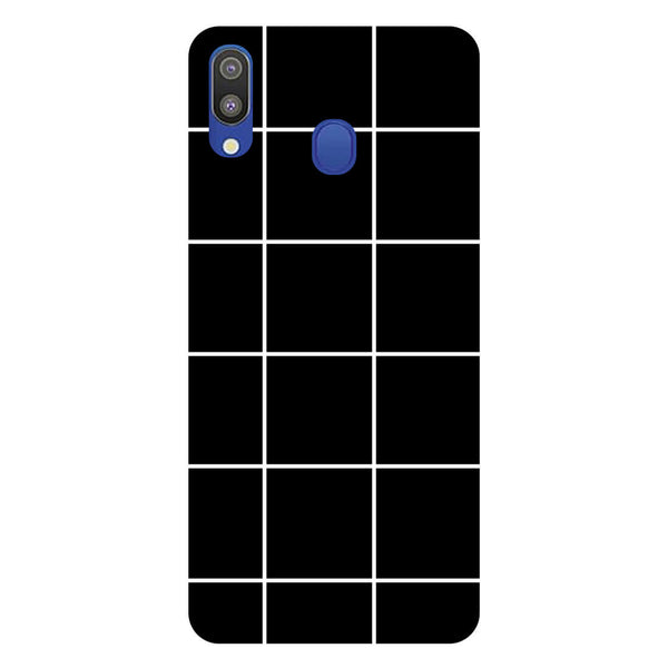 Checks Samsung Galaxy M20 Back Cover-Hamee India