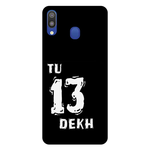 Tu Samsung Galaxy M20 Back Cover-Hamee India