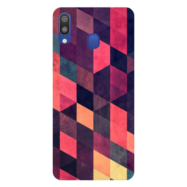 Pink Shades Samsung Galaxy M20 Back Cover-Hamee India