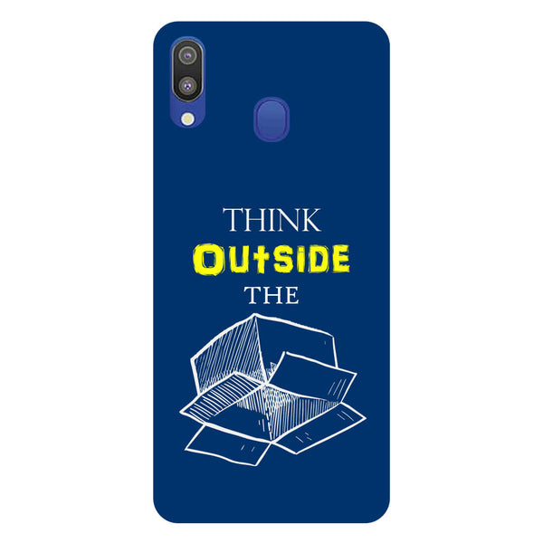 Think Samsung Galaxy M20 Back Cover-Hamee India
