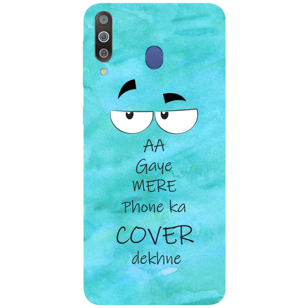 Aa Gaye Samsung Galaxy M30 Back Cover-Hamee India