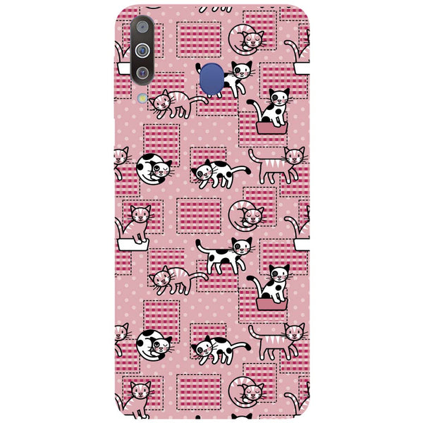 Kittens Samsung Galaxy M30 Back Cover-Hamee India
