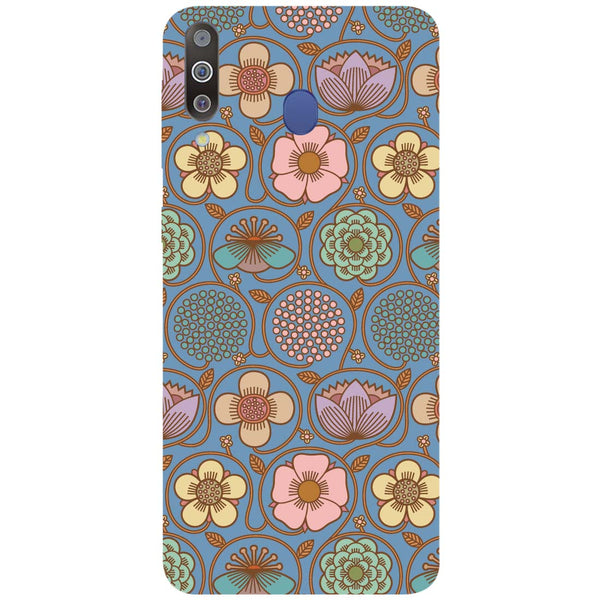 Flowers Samsung Galaxy M30 Back Cover-Hamee India