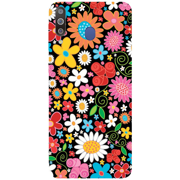 Bloom Samsung Galaxy M30 Back Cover-Hamee India