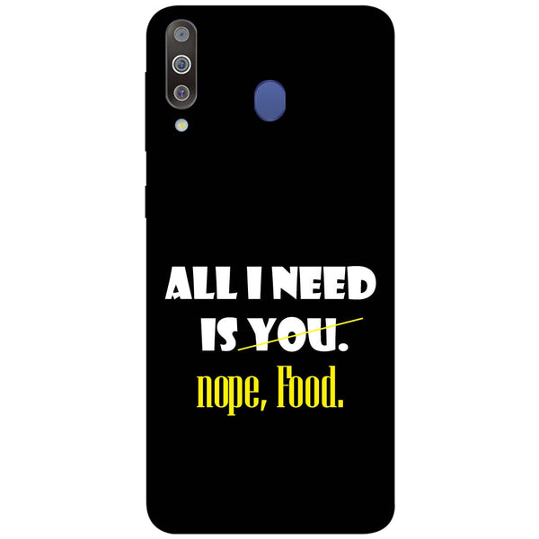 Food Samsung Galaxy M30 Back Cover-Hamee India