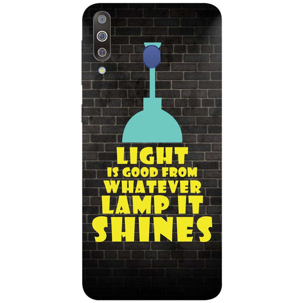 Shine Samsung Galaxy M30 Back Cover-Hamee India
