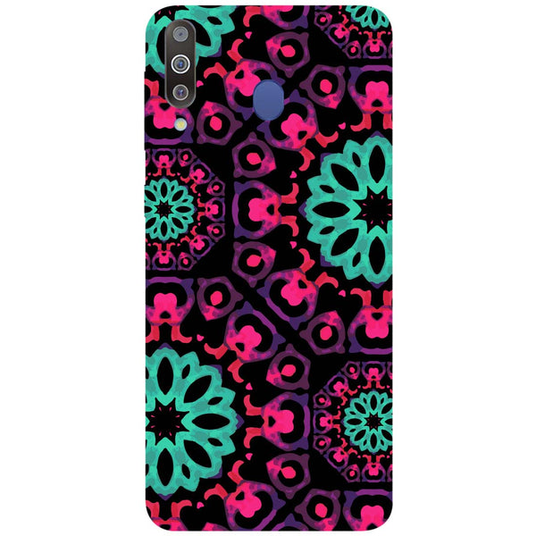 Mandala Print Samsung Galaxy M30 Back Cover-Hamee India