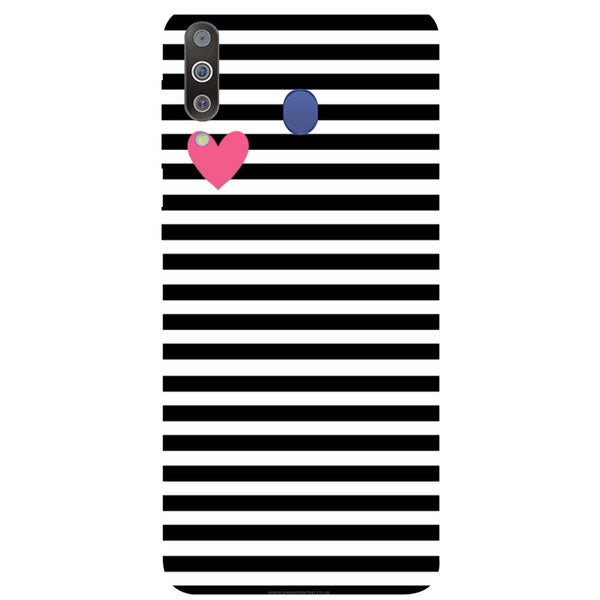 Stripes Samsung Galaxy M30 Back Cover-Hamee India