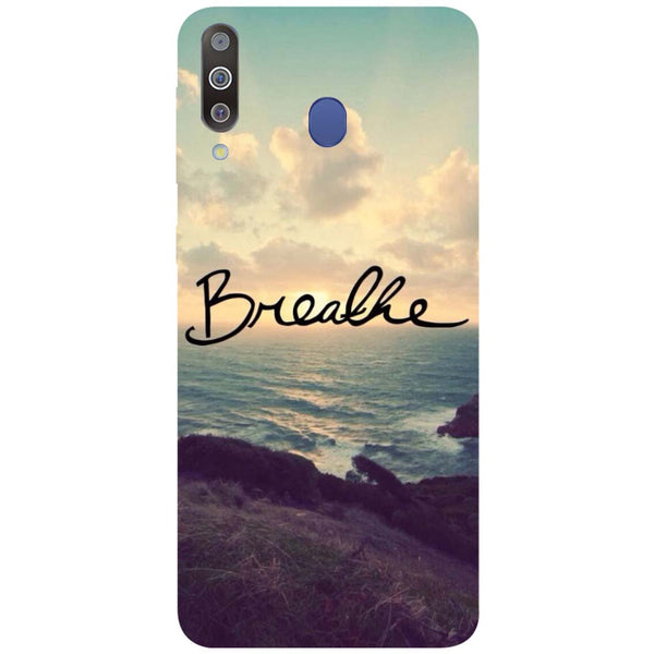 Breathe Samsung Galaxy M30 Back Cover-Hamee India